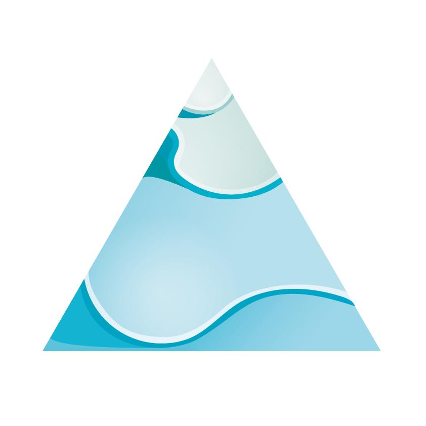 Logo Triangle Wave